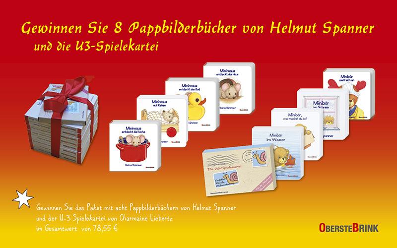 Verlosung: 3 x Pappbilderbuchpaket plus U3-Spielekartei