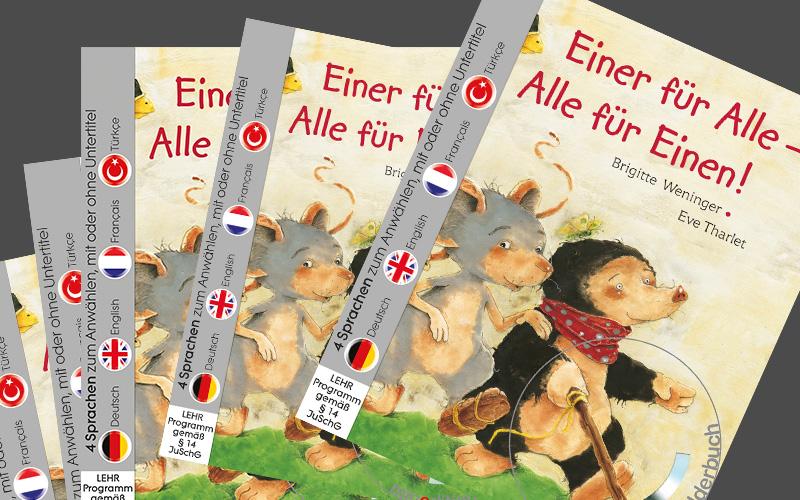 Verlosung: 5x Bilderbuch mit DVD