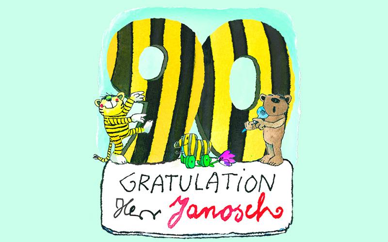 Herzlichen Glückwunsch, Herr Janosch!