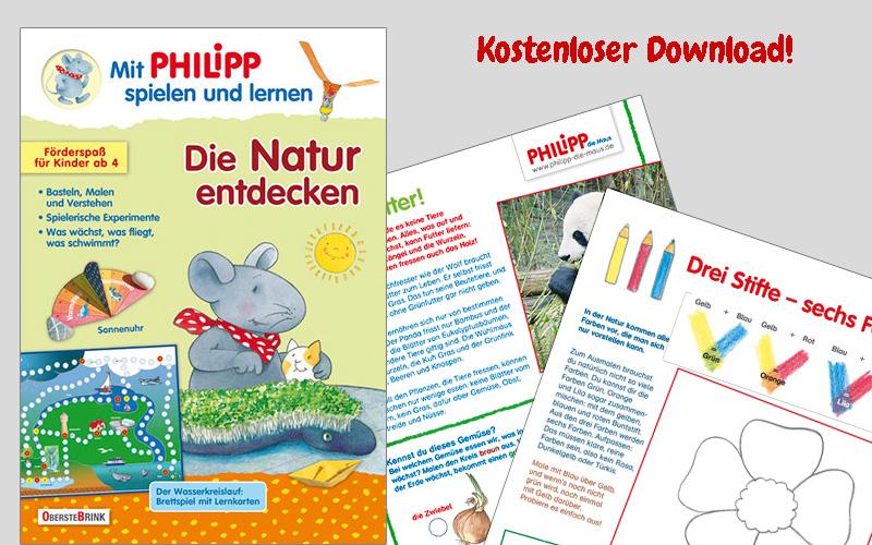 Die Natur entdecken mit Philipp