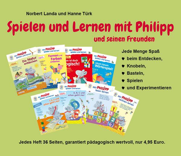 Mit Philipp spielen und lernen