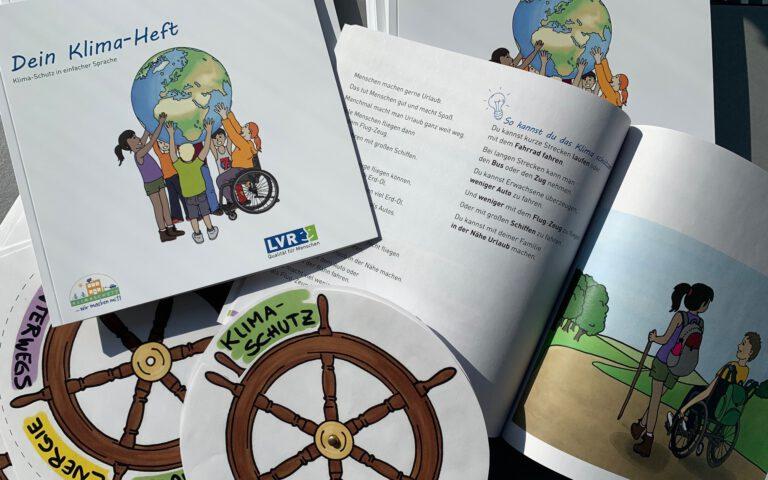 Inklusives Klimabildungsheft – kostenloser Download als barrierefreies PDF