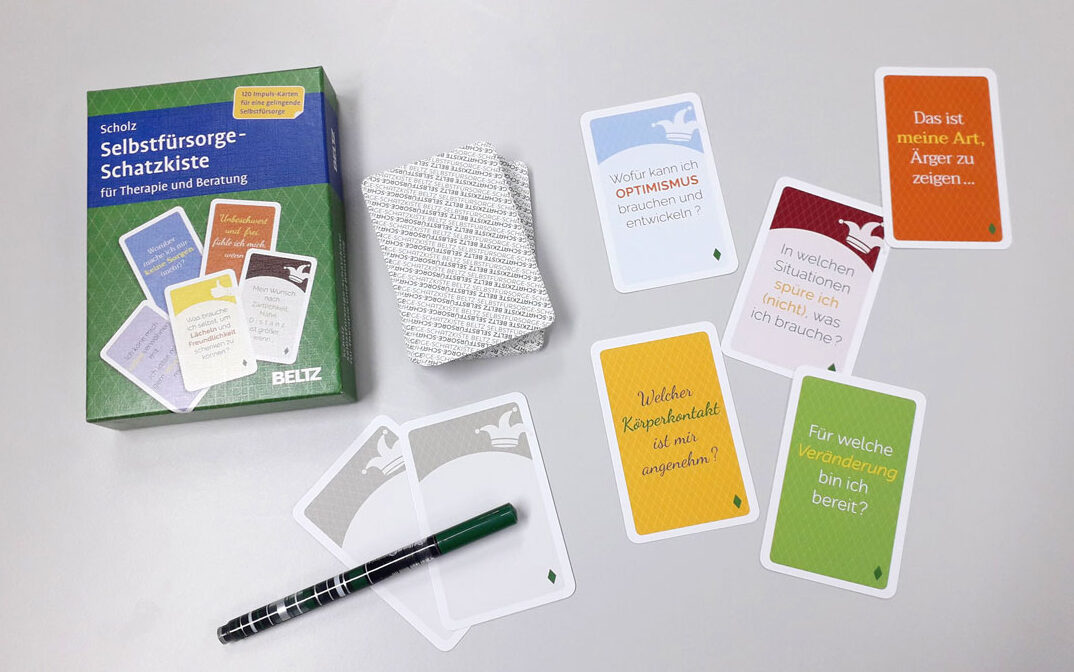 Impulskarten für Wohlbefinden und Selbstreflektion