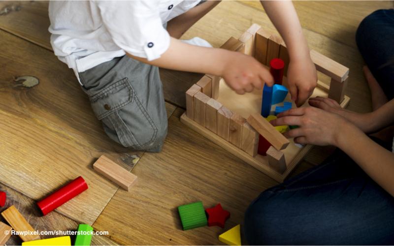 Im freien Spiel des Kindes liegen heilende Kräfte