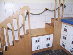 Der Treppenabsatz