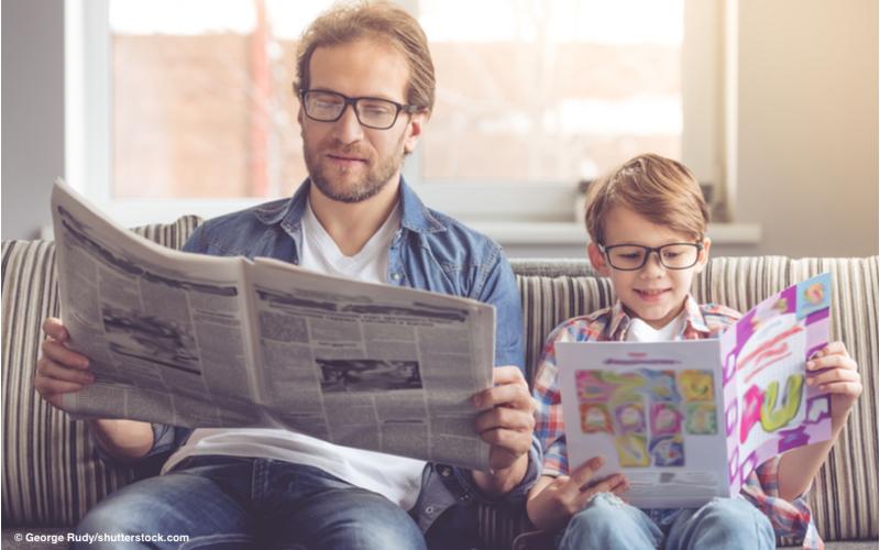 Read more about the article Kinder ziehen klassische Medien vor und Eltern lesen mit