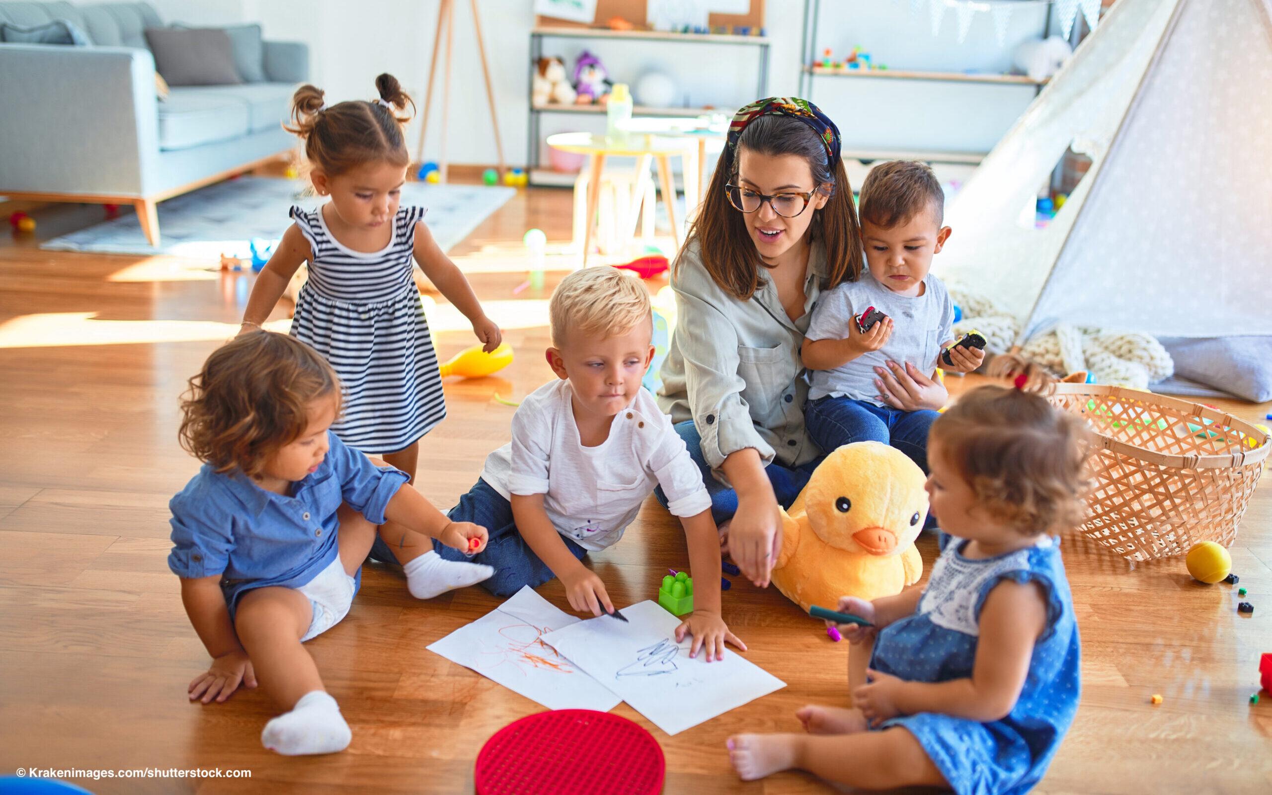 Read more about the article Jedes dritte Kind unter sechs Jahren ganztags betreut