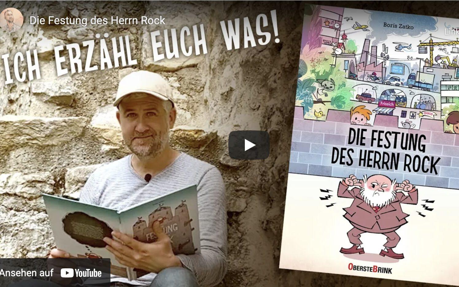 Read more about the article Bilderbuchkino: Herr Rock, eine Burg und ein überraschendes Happy End