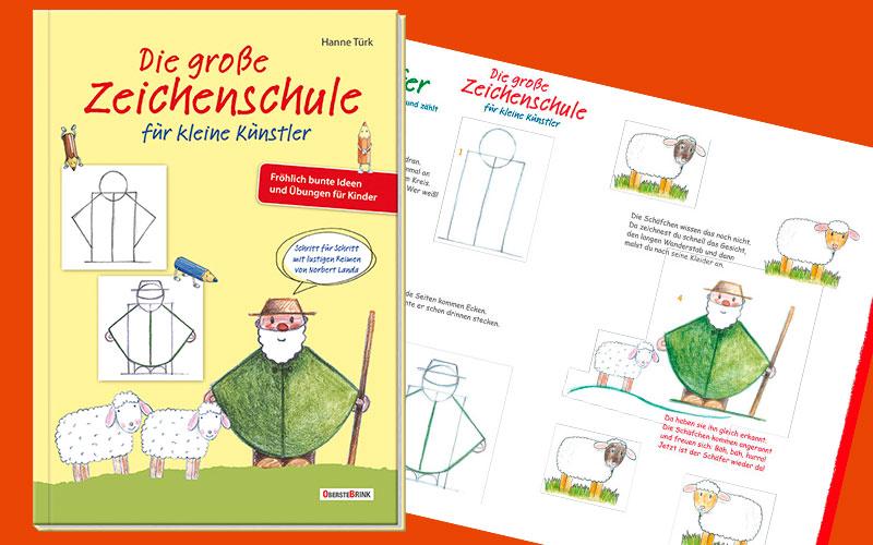 Read more about the article Die große Zeichenschule für kleine Künstler – mit Vorlage