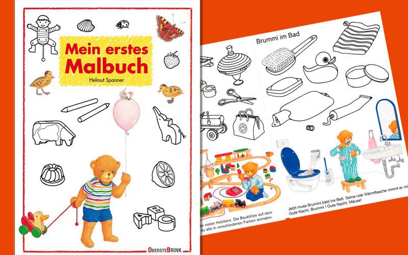 Read more about the article Mein erstes Malbuch – mit Malvorlage zum Download